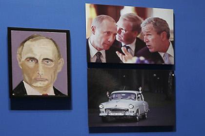 Джордж Буш нарисува портрети на световни лидери