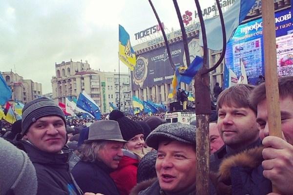 Европейски лидери пристигат в Киев за честванията на Майдана