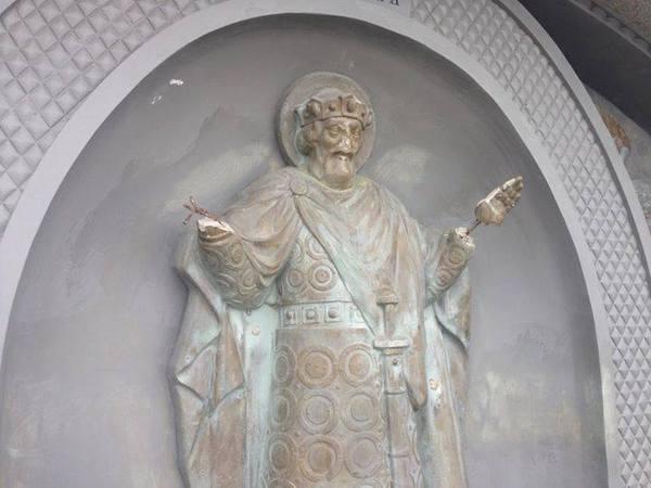 Църквата се надява на скорошно възстановяване на паметника на княз Владимир в Киев