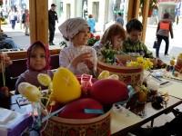 В Москва се провеждат празнични мероприятия за Великден