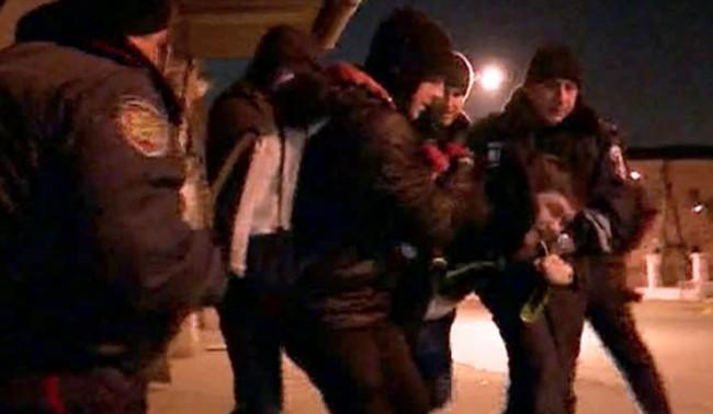 В Харков сблъсъци между демонстранти