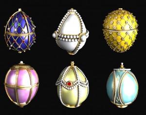 Знаменитите великденски яйца на Фаберже