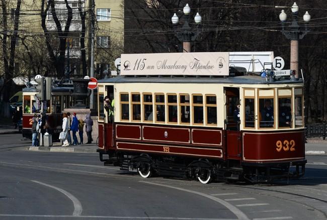Парад на трамваи в Москва