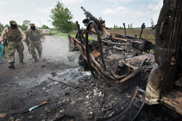 Един загинал и четирима ранени след стрелба около Краматорск