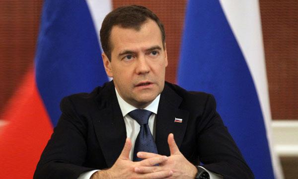 Русия се насочва към азиатските пазари, обяви Медведев