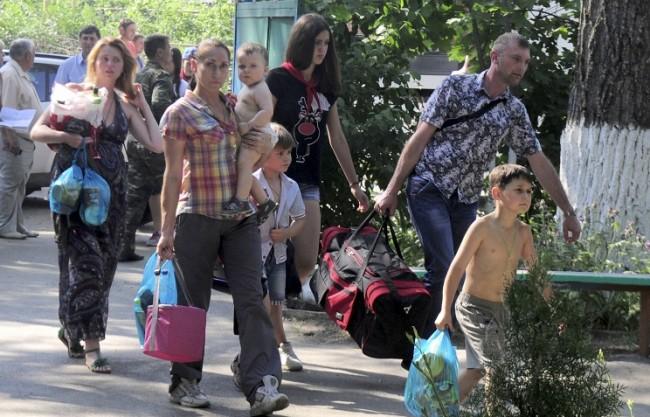 ООН забеляза преселването на 46 хиляди украинци