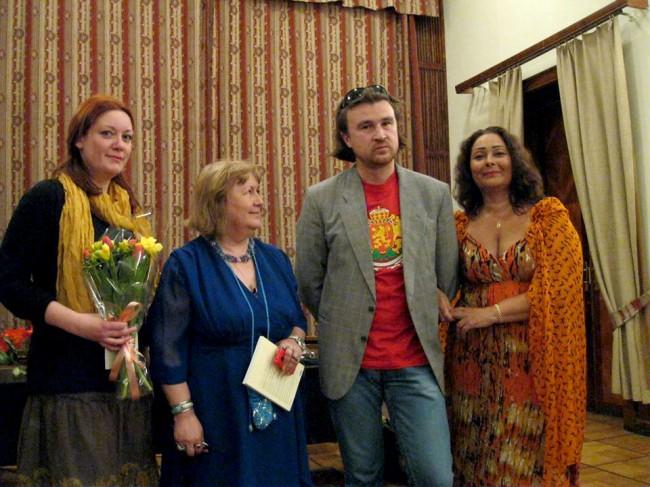 Руска поезия в превод на български език в Москва