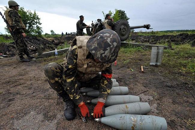 Украински снаряди на руска територия
