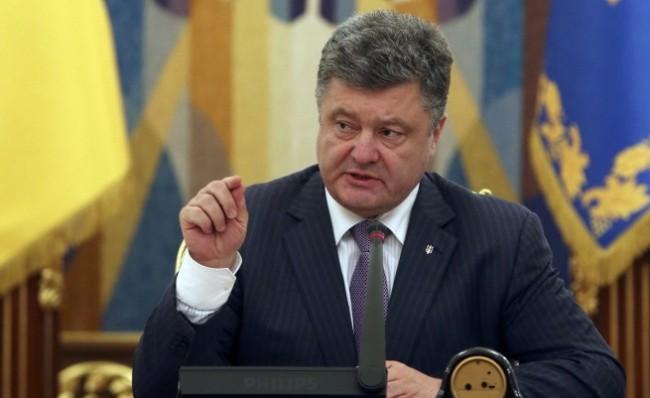 Петро Порошенко се обяви против налагането на санкци срещу Русия