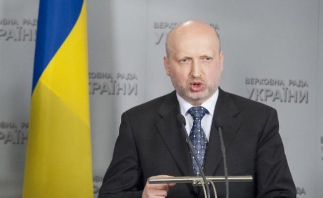 Турчинов: Порошенко може да удължи примирието