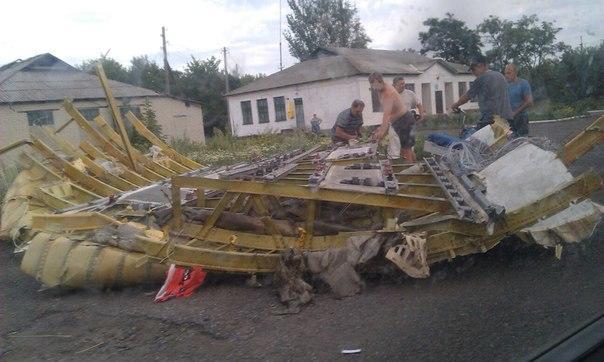 При падането на боинга са пострадали местни жители