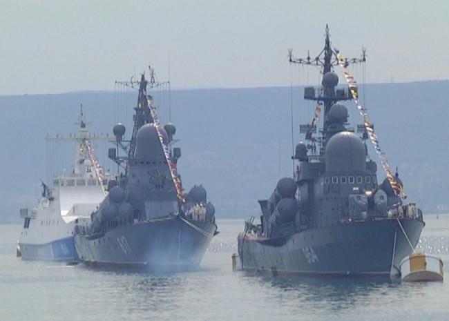В Русия отбелязаха Деня на военноморския флот