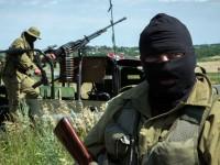 Колона от опълченци се движи към Донецк