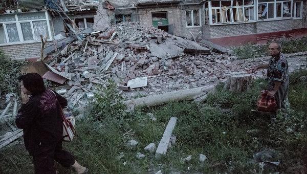 Многочислени жертви в ЛНР след въздушните атаки на украинската армия