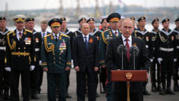 Путин: Черноморския флот е сред приоритетите на Русия