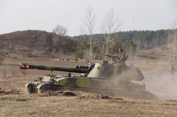 Украинската армия окупира село Николаевка