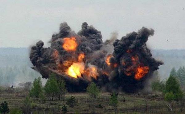На руска територия се взривиха три снаряда