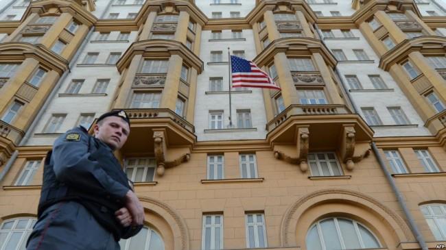 Американското посолство в Москва спря да издава визи на руски граждани