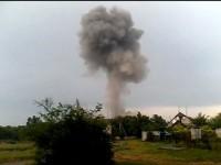 Взривът на моста в Донбас (видео)