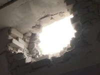 Снаряд удари редакция на вестник в Краматорск