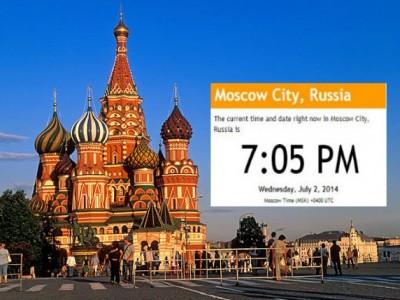Русия отново ще сменя лятно и зимно време