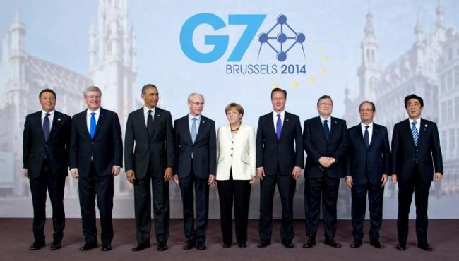 G7 призова към прекратяване на огъня в Украйна