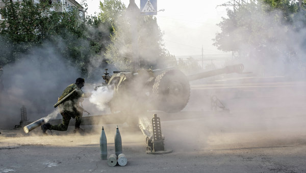 Украинската армия се опитва да проникне в Донецк