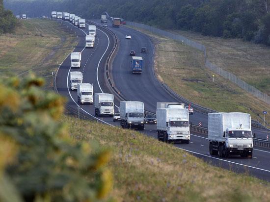 До дни тръгва втори конвой с помощи от Русия за Украйна