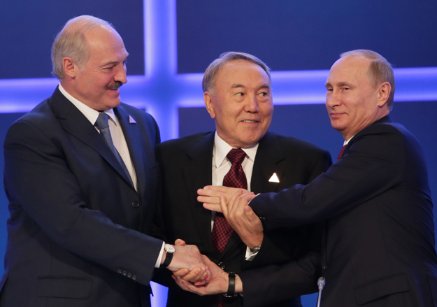 Путин, Назарбаев, Лукашенко обсъдили руските санкции