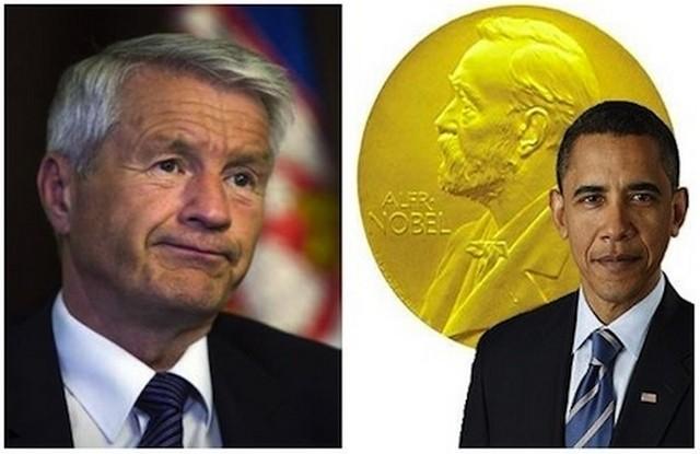 """Нобеловия комитет """"учтиво"""" помоли Обама да върне наградата за мир"""