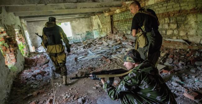 Партизанска война се разгаря в Източна Украйна