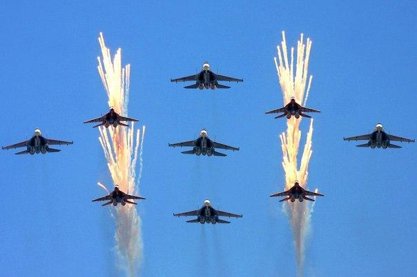 Русия отбеляза Деня на ВВС