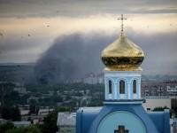 Свещеник бе убит при обстрел в Югоизточна Украйна