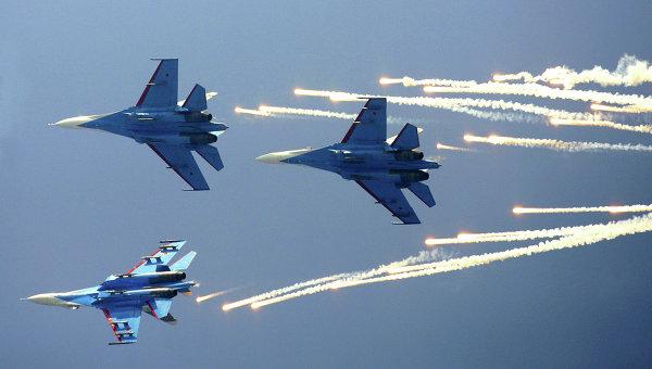 В Русия стартираха учения с участието на авиацията и средствата за ПВО