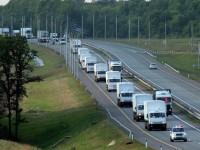 Червеният кръст остана удовлетворен от състоянието на руската хуманитарна помощ за Украйна