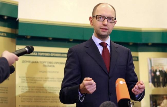 Яценюк: Украйна не може да изкара зимата без руския газ