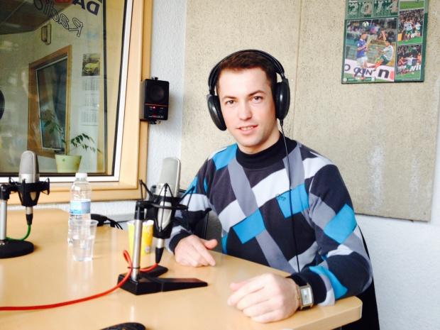 Максим Димитров, млад българин, който е роден в одеското село Голица, но в момента живее и работи в България