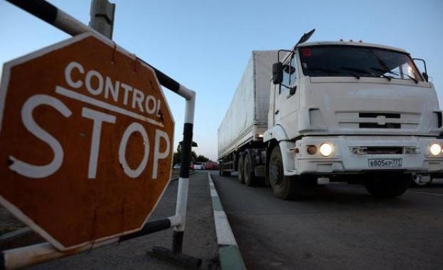 В Украйна влезе втори руски хуманитарен конвой