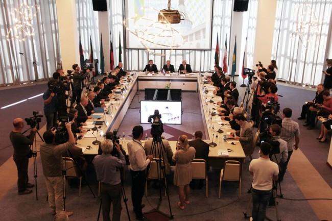 Започна каспийската среща на върха в Русия