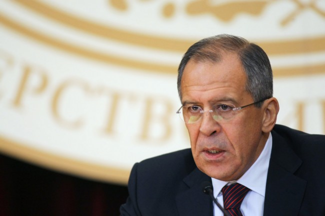 Лавров: Вашингтон, Брюксел и НАТО притискат Киев