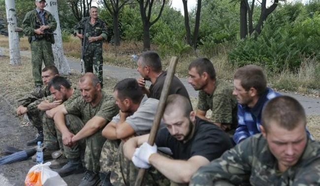 Опълченците и Киев разменят пленници