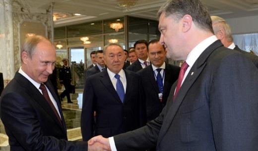 Путин и Порошенко обсъдиха мерките за прекратяване на кръвопролитията в Украйна