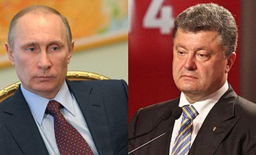 Путин предупреди Порошенко за последствията от споразумението с ЕС
