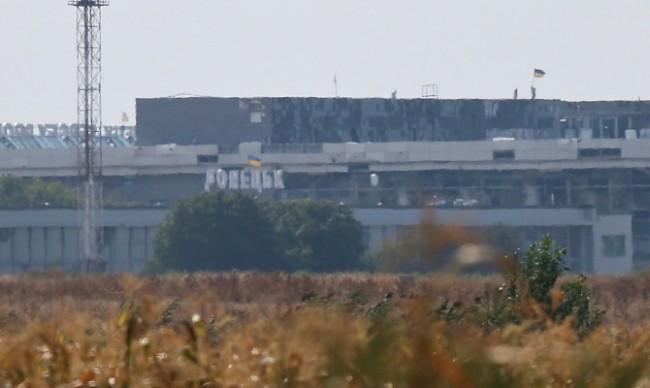 Украински части щурмуваха летището на Донецк