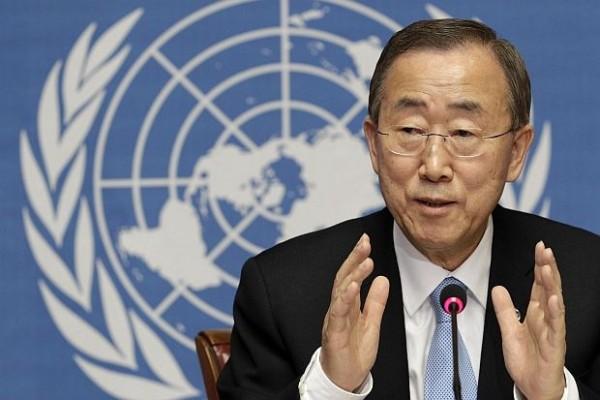 Бан Ки-мун призова Порошенко да продължи диалога с Русия