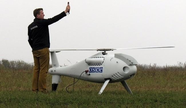 В Донбас безпилотни апарати на ОССЕ