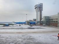 В Екатеринбург самолет се сблъска в автомобил за превоз на багаж