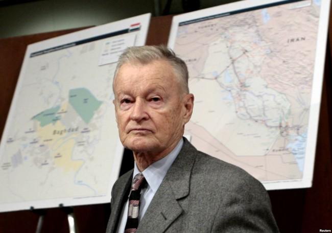 Збѝгнев Кажѝмеж Бжежѝнски  е американски политолог, социолог и държавен служител от полски произход. Съветник и член на настоятелството на центъра за стратегически и международни проучвания в САЩ.