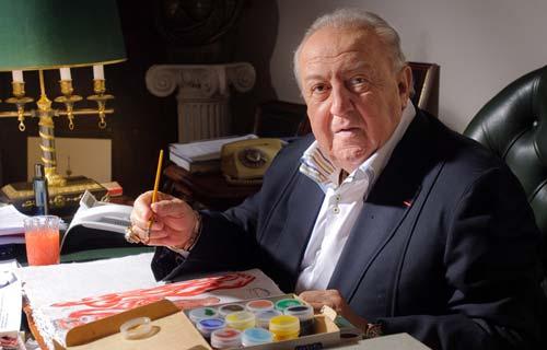 Зураб Церетели – Президент на Руската художествена академия