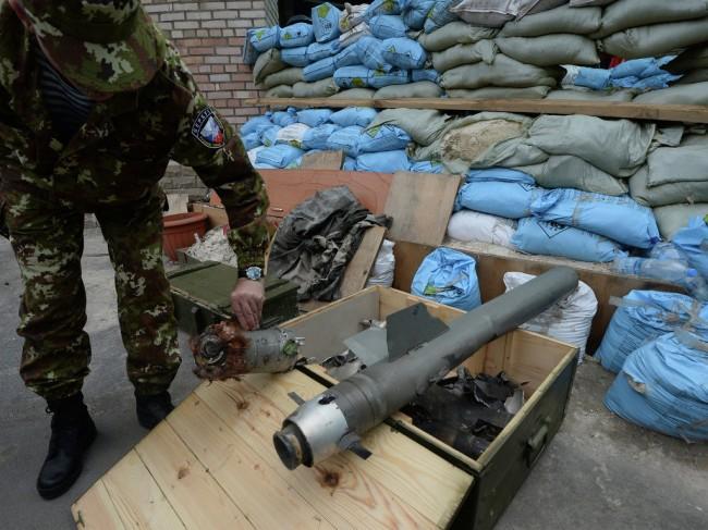 HRW: Украинските военни използват касетъчни боеприпаси